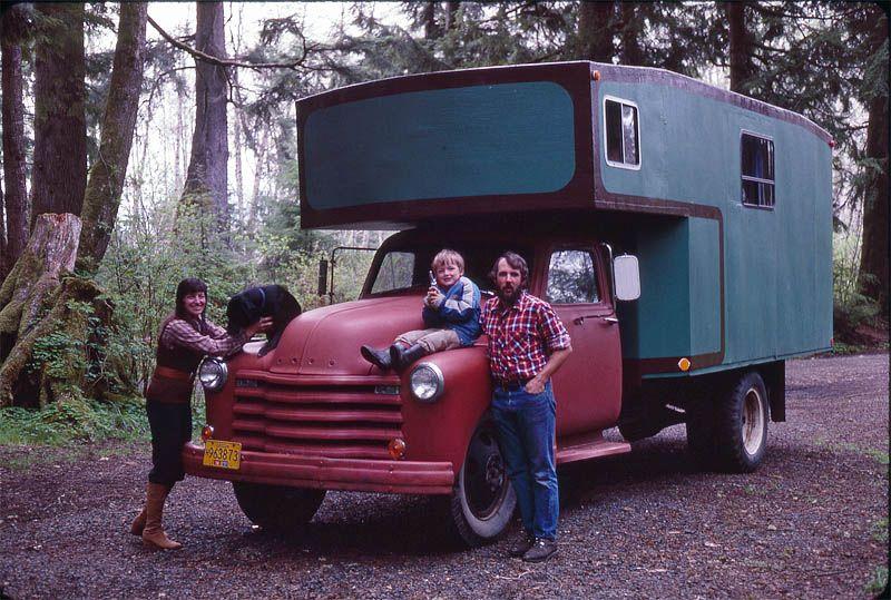 Home Built Truck Camper   home-made-truck-camper   Truck ...
