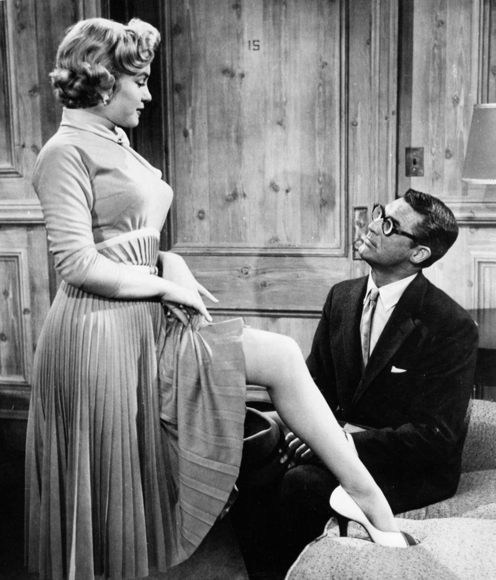 Marilyn in a scene from Monkey Business Marilyn monroe