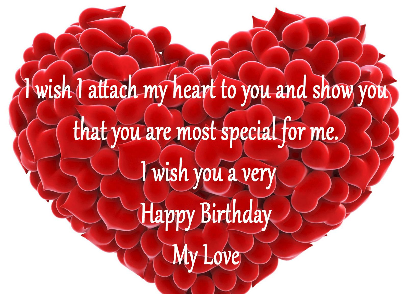 Romantic Birthday Wishes Pictures For Lover Birthday Wish For