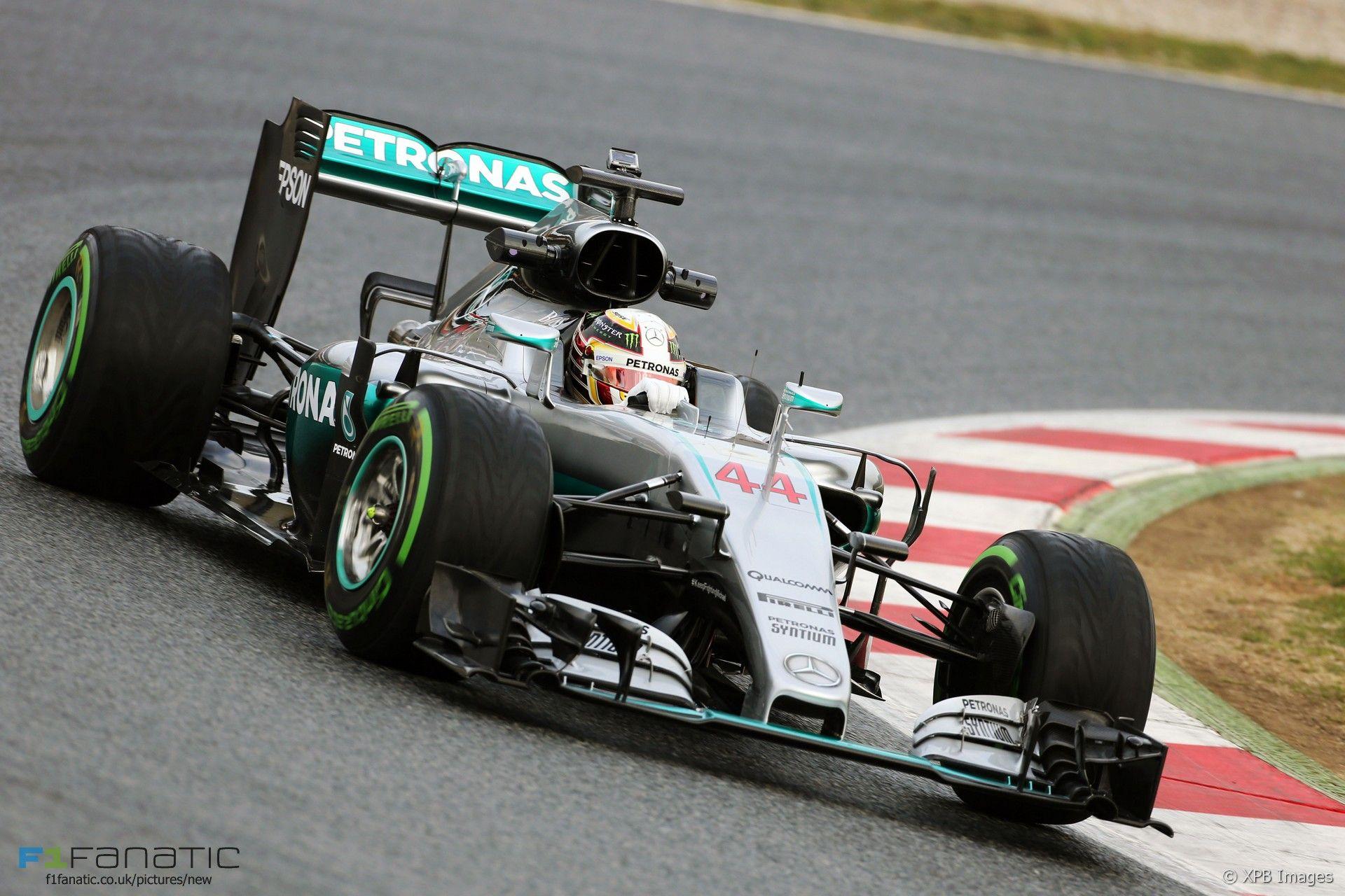 Lewis Hamilton, Mercedes W07, Circuit de Catalunya, 2016