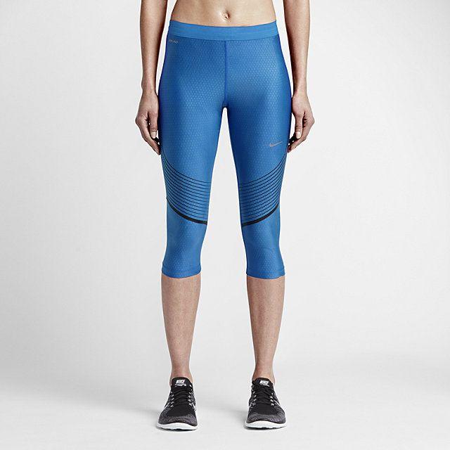 8fe94d5f82d39 Nike Power Speed Women's Running Capris. Nike.com | Workout gear ...