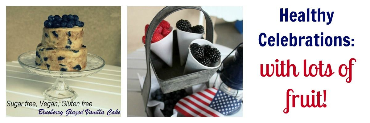 4th of July fruit cones