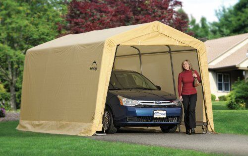 Canopy Auto Shelter Carport Portable Garage Storage Car Boat Sheds Tent Backyard & Canopy Auto Shelter Carport Portable Garage Storage Car Boat Sheds ...