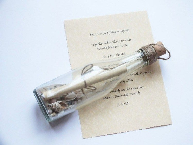 Berikut Ini Contoh Desain Kartu Undangan Pernikahan Yang Unik