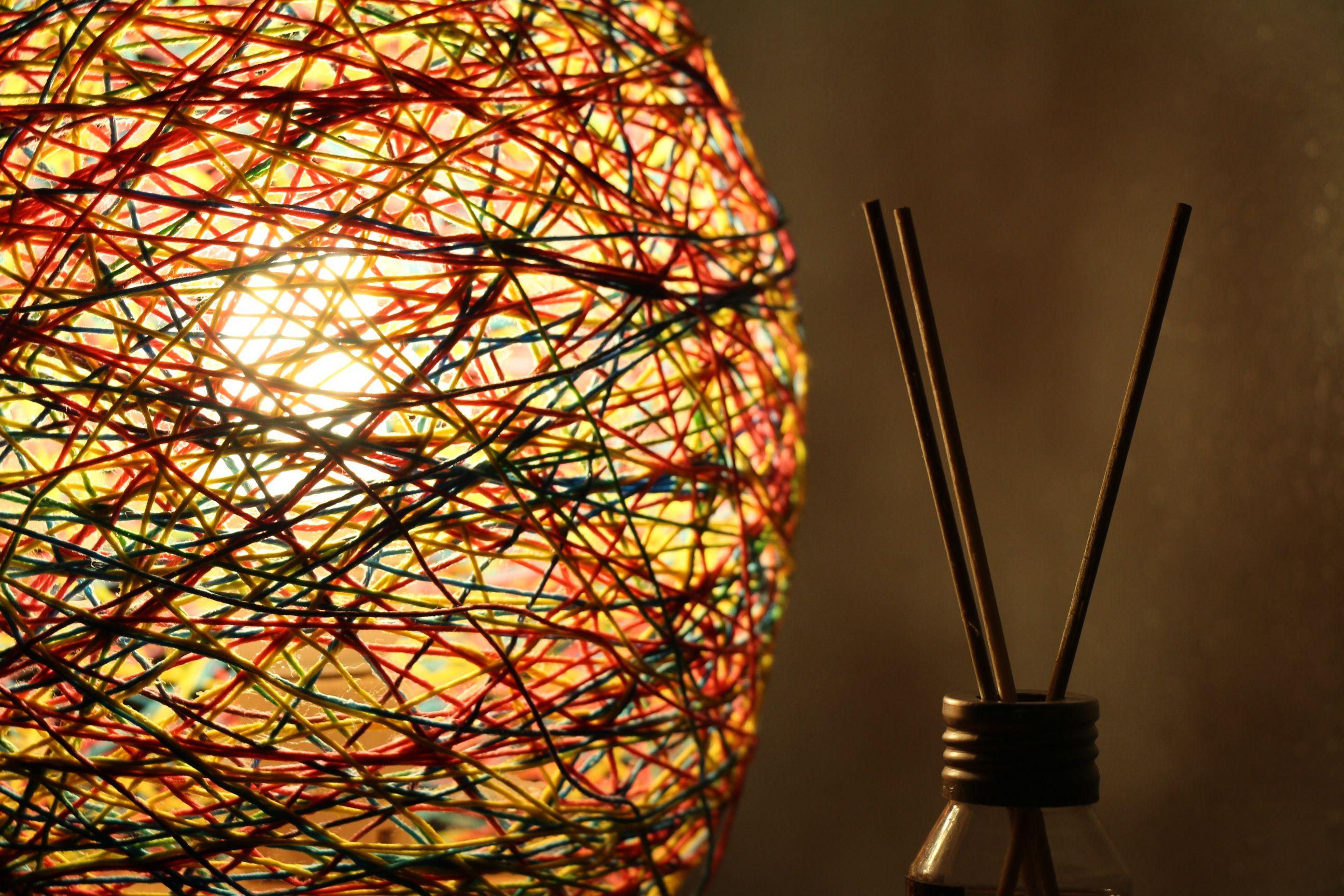Abajur Emaranhado de Fios & Abajur Emaranhado de Fios | Take DIY | Pinterest azcodes.com