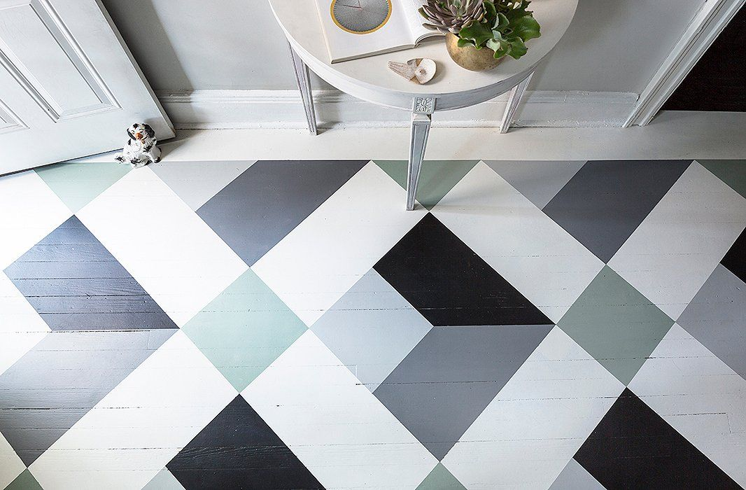 A Fantastic Painted Floor Diy You Can Do In A Weekend Diy