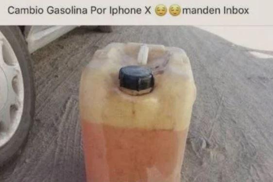 Cambio Gasolina Por Iphone X Desabastodegasolina Mexicosingasolina