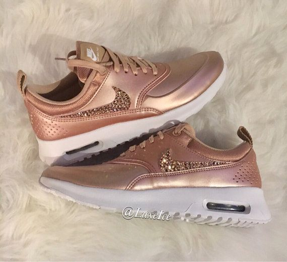 super popular 1434e a6492 LIMITED Nike Air Max Thea SE with SWAROVSKI® von ShopLuxeIce