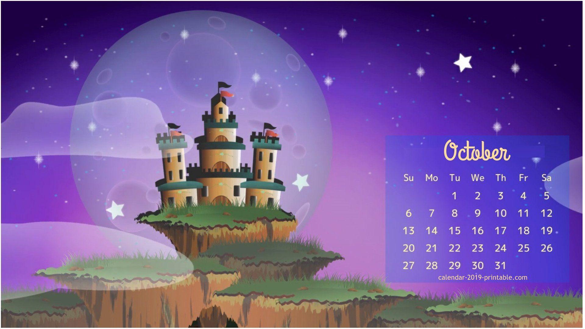 calendar wallpaper for october 2019 Calendar wallpaper