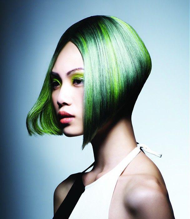 paul mitchell medium green hairstyles
