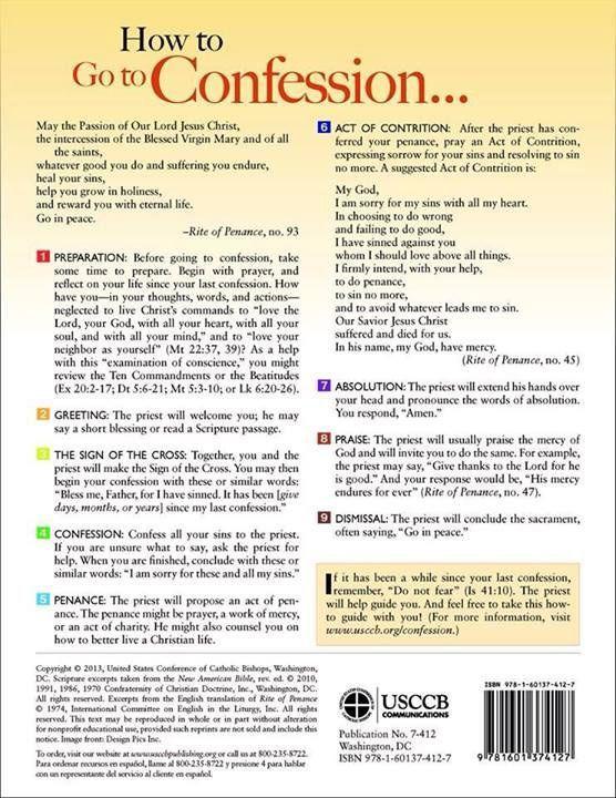 Sacrament Of Confession For Kids