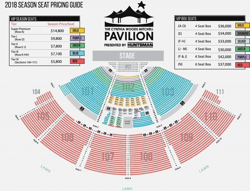 Xfinity Theater Seating Chart In 2020 Seating Charts Theater Seating Auditorium Seating