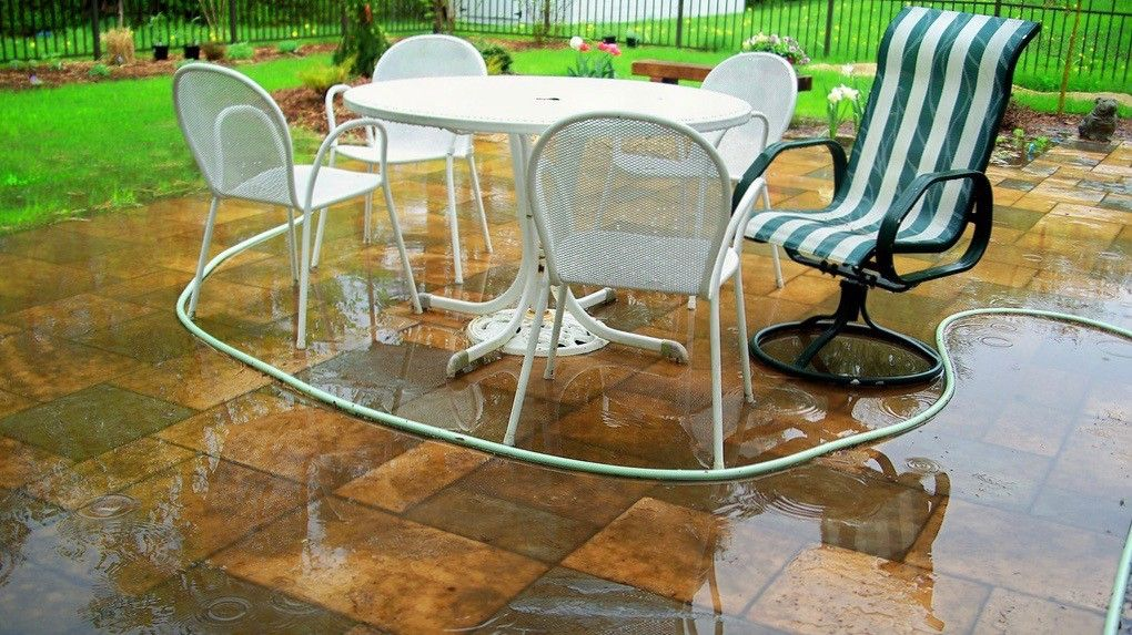 How To Get Rid Of Standing Water On Your Patio Home
