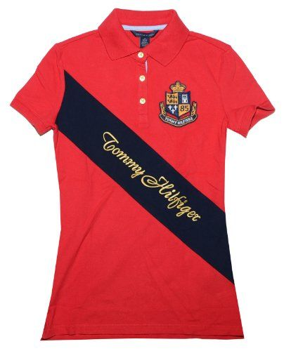 7d9b2ba33 Save $19.91 on Tommy Hilfiger Women Designer Logo Polo T-shirt; only $39.99  + Free Shipping