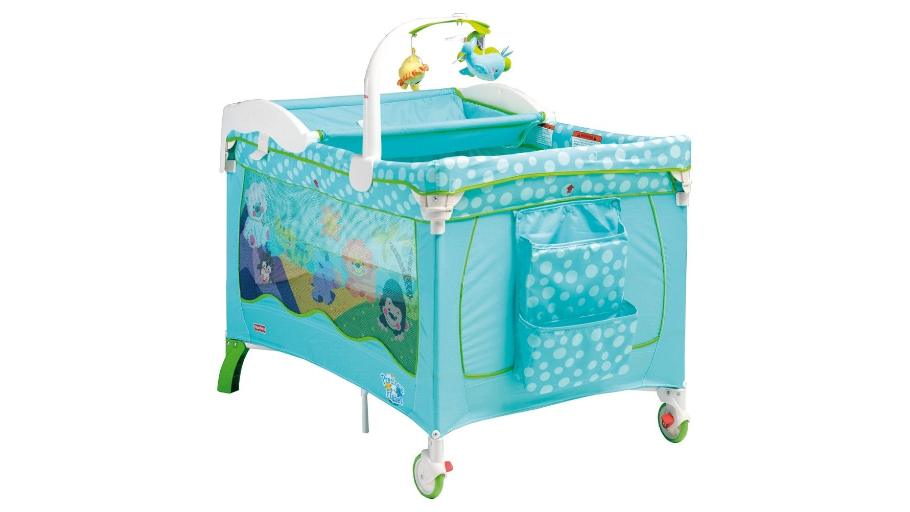 Fisher Price Precious Planet 3 In 1 Travel Baby Cot