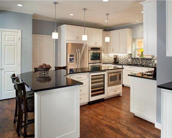 Contemporary Kitchen Design Pictures Remodel Decor And Ideas Impressive 10X10 Kitchen Designs With Island Inspiration Design