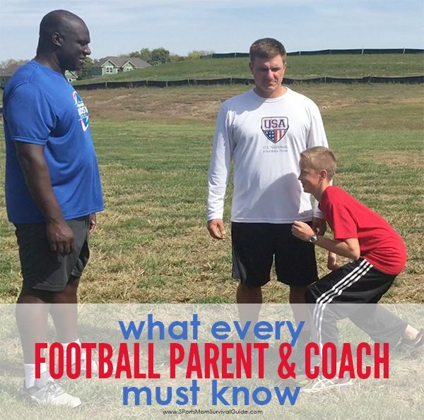 If you are a Football Parent or Football Coach find out what What Every Football Parent and Coach Must Know from Heads Up Football!