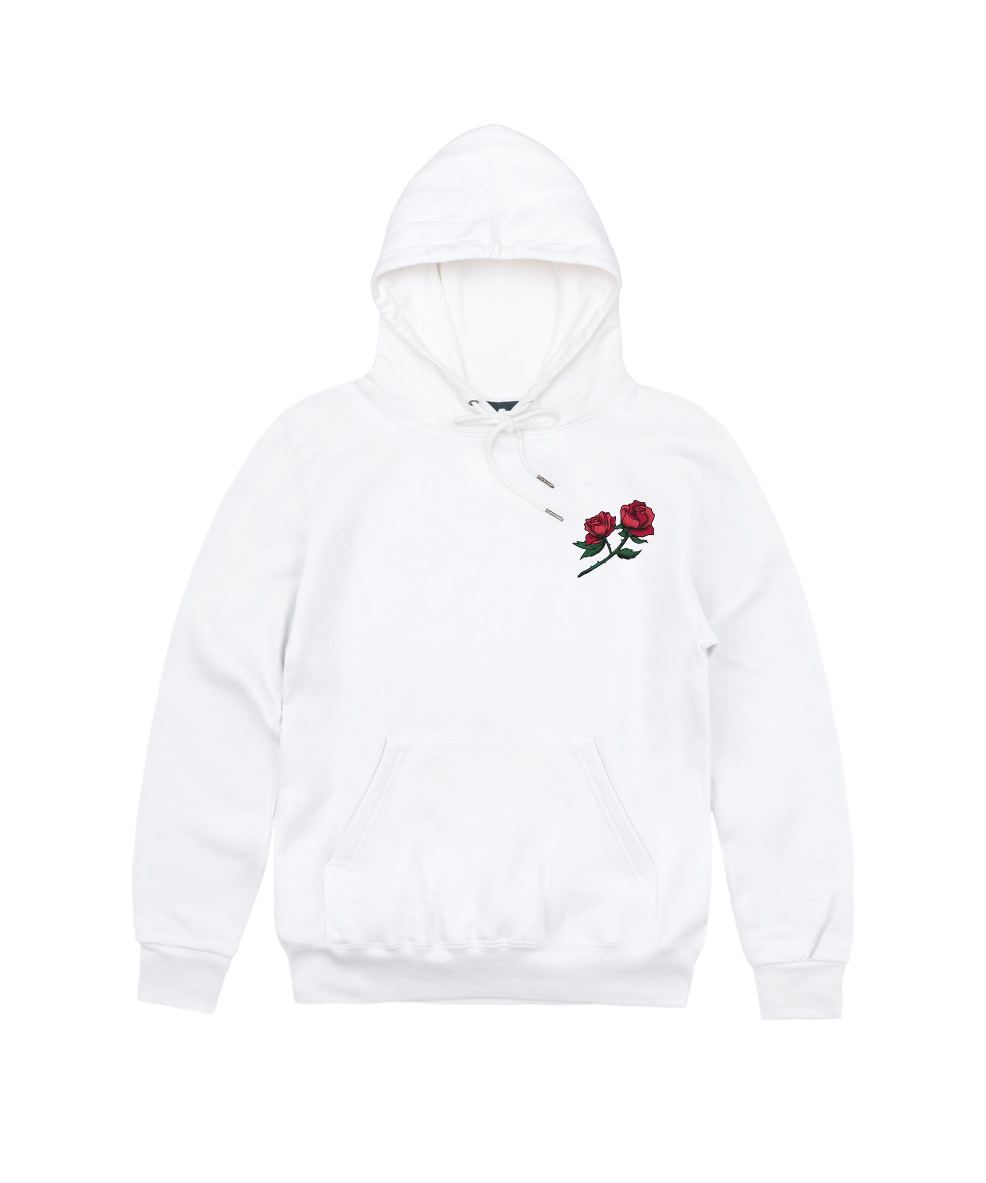 Hoodie Blanc Wild Rose Bleue | Vetements, Roses bleues, Bleu