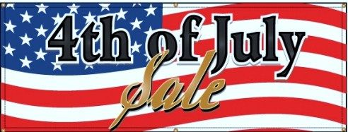 15% off storewide. http://bride2be.theaspenshops.com/  Discount applies to product sales only, and does not include taxes or shipping. Thursday July 4th only!