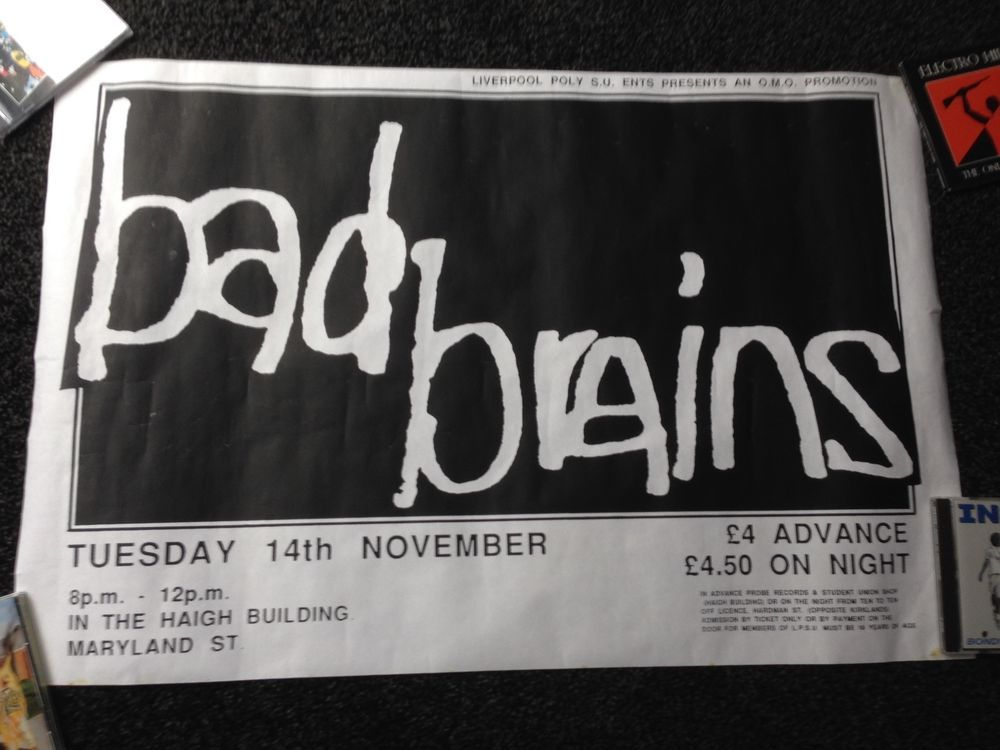 Poster Badezimmer ~ Best bad brains flyers images rock posters