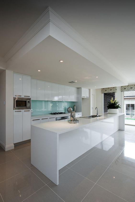 8 Stunning White Kitchen Ideas Grey Kitchen Floor Kitchen Floor