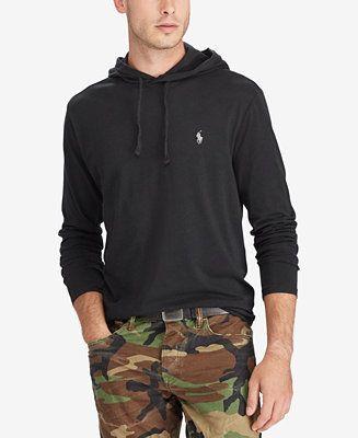 3a49896d9db7 Polo Ralph Lauren Men s Jersey T-Shirt Hoodie - League Heather L ...