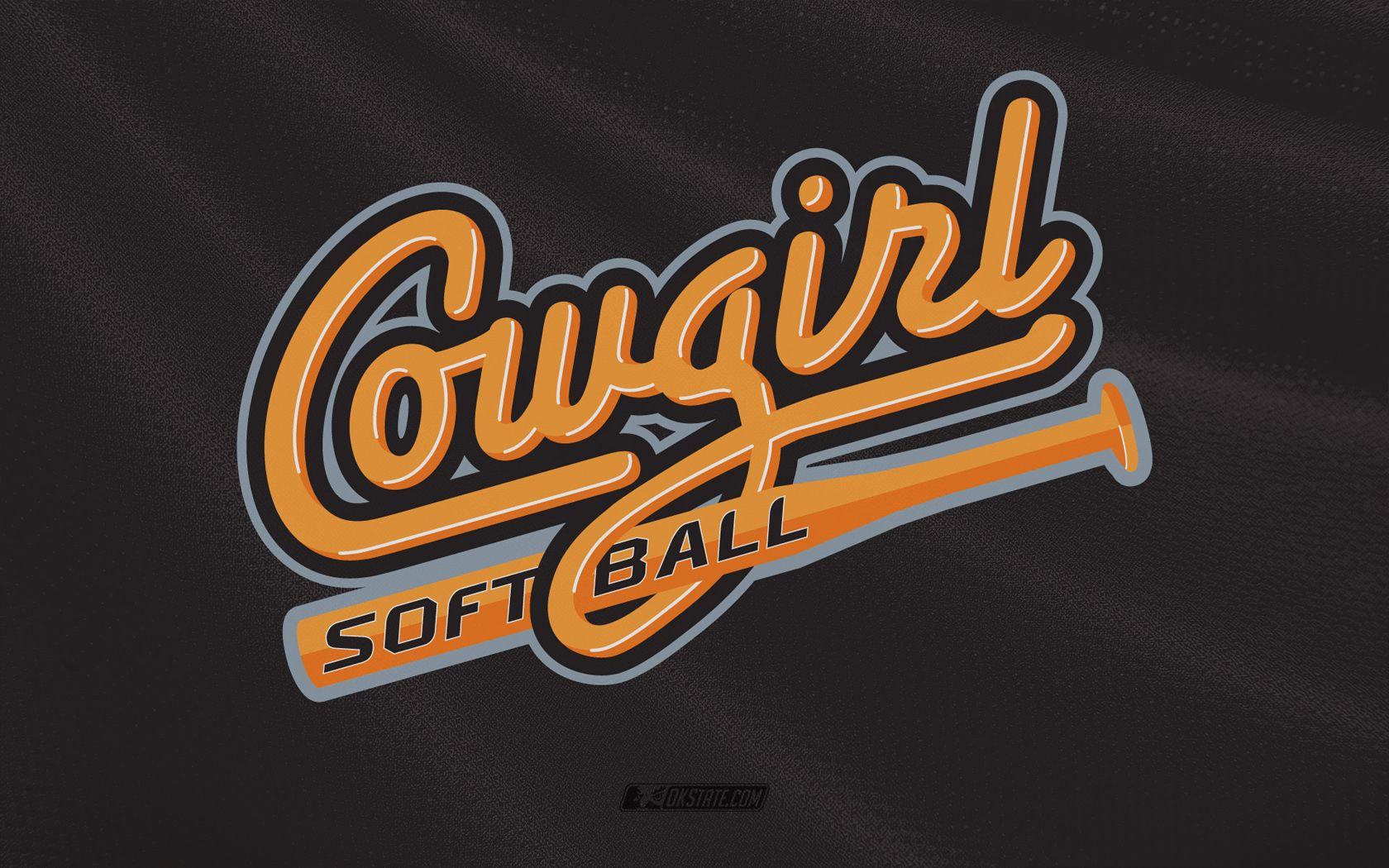 OSU Cowgirl Softball logo Softball logos, Softball