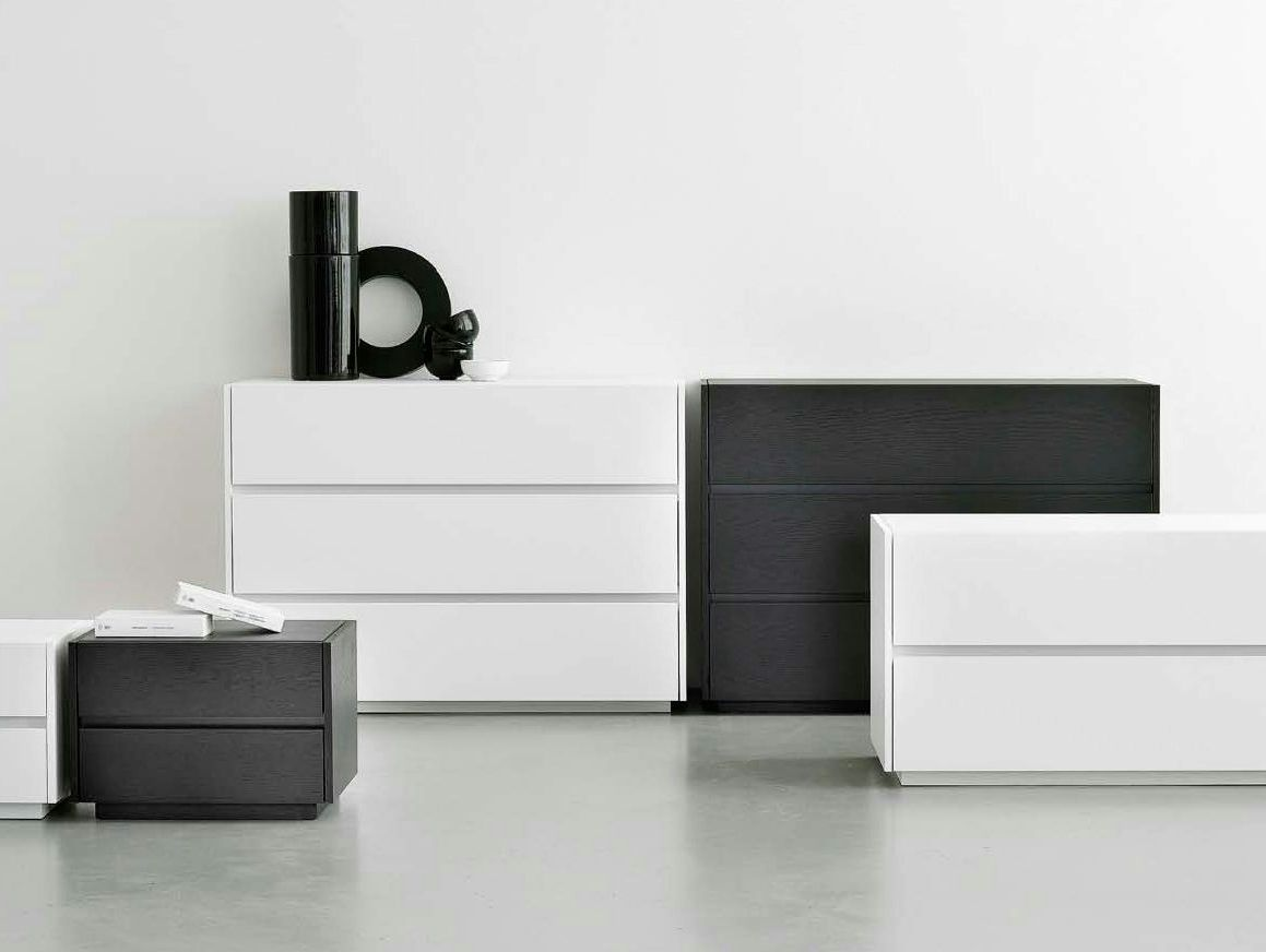 Mobili Olivieri ~ Lacquered chest of drawers self self collection by olivieri