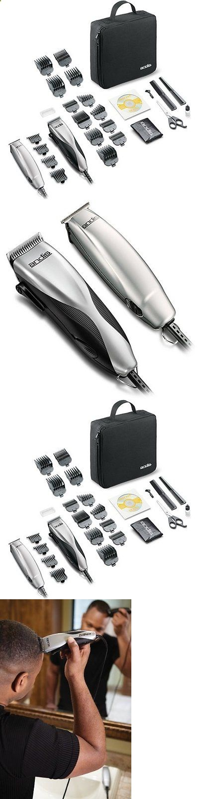 Clippers And Trimmers Andis 29115 Promotor Hair Clipper Trimmer Combo 27 Piece Kit