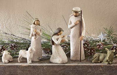 6 Piece Nativity Set Willow Tree Nativity Nativity Set Nativity