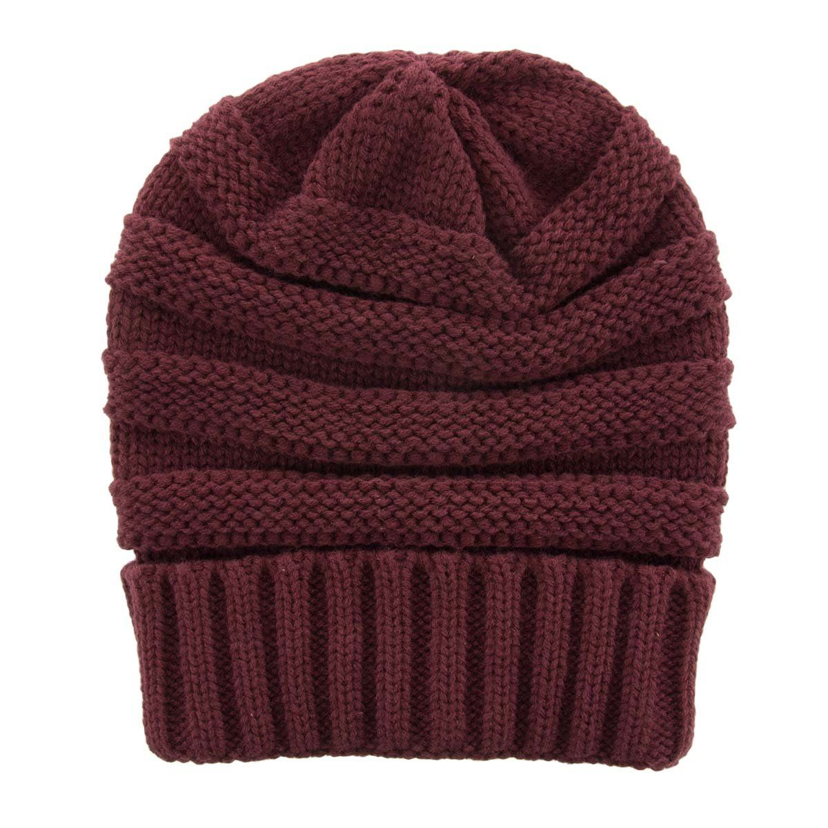 d7a3772e DG Hill Winter Hat For Women Slouchy Beanie Hat Chunky Knit Ribbed  Lightweight Soft Warm #RedHatIdeas