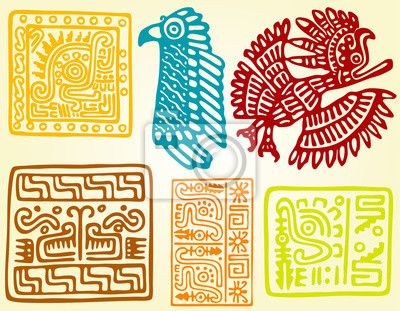 Vinilo naturaleza, recargado, conjunto, símbolo, tribal, portador, ala, 2012.