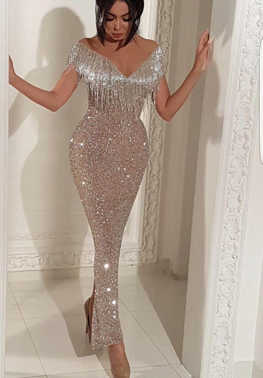 Purple Hottest Party Dress Prom Dresses 2019 Vestidos De Gala Long Sexy Sheath Sweetheart Open Back Sequin Rhinestone Beads With Traditional Methods Prom Dresses