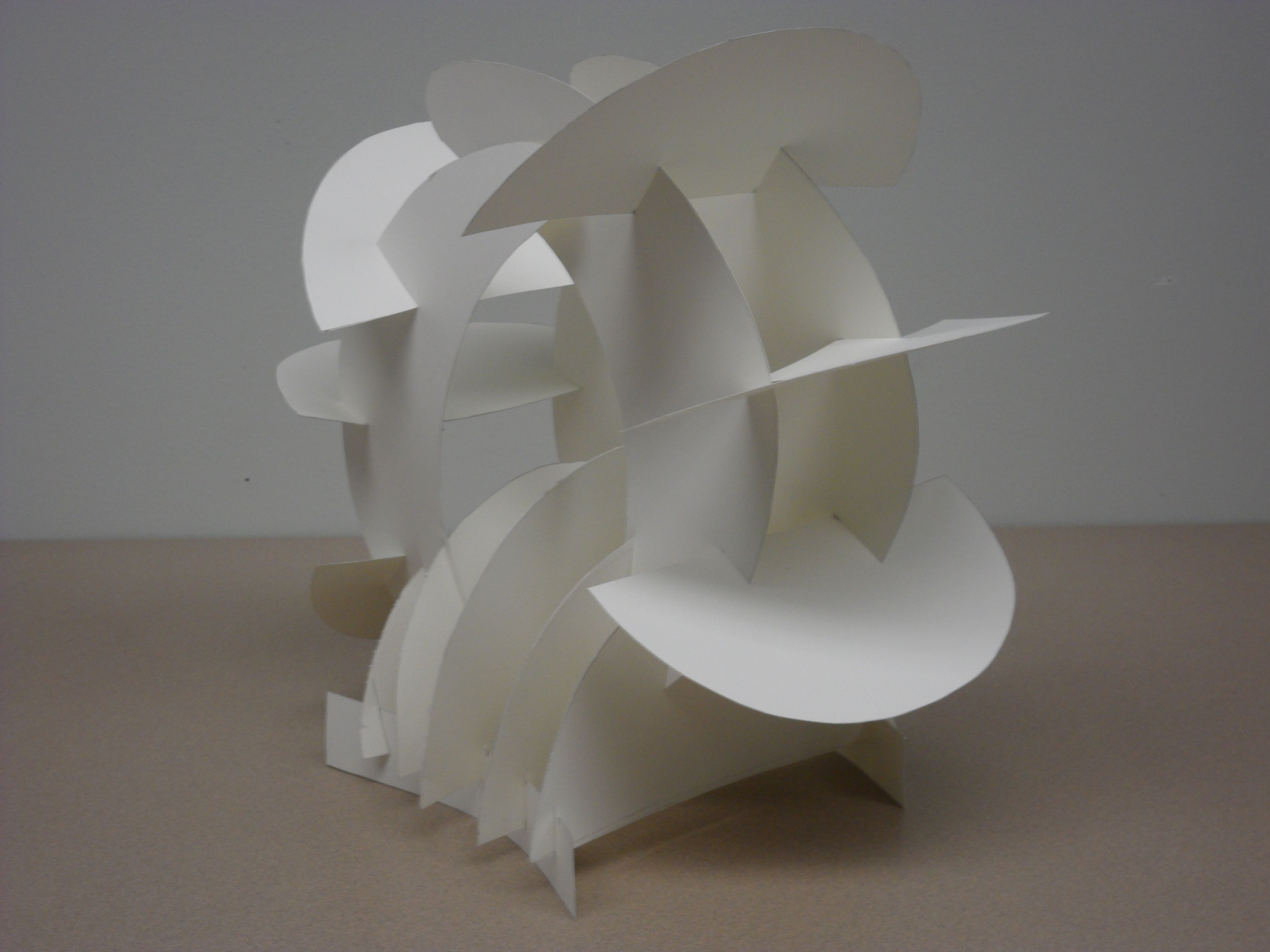 intersecting planes sculpture. planar sculpture - google search intersecting planes