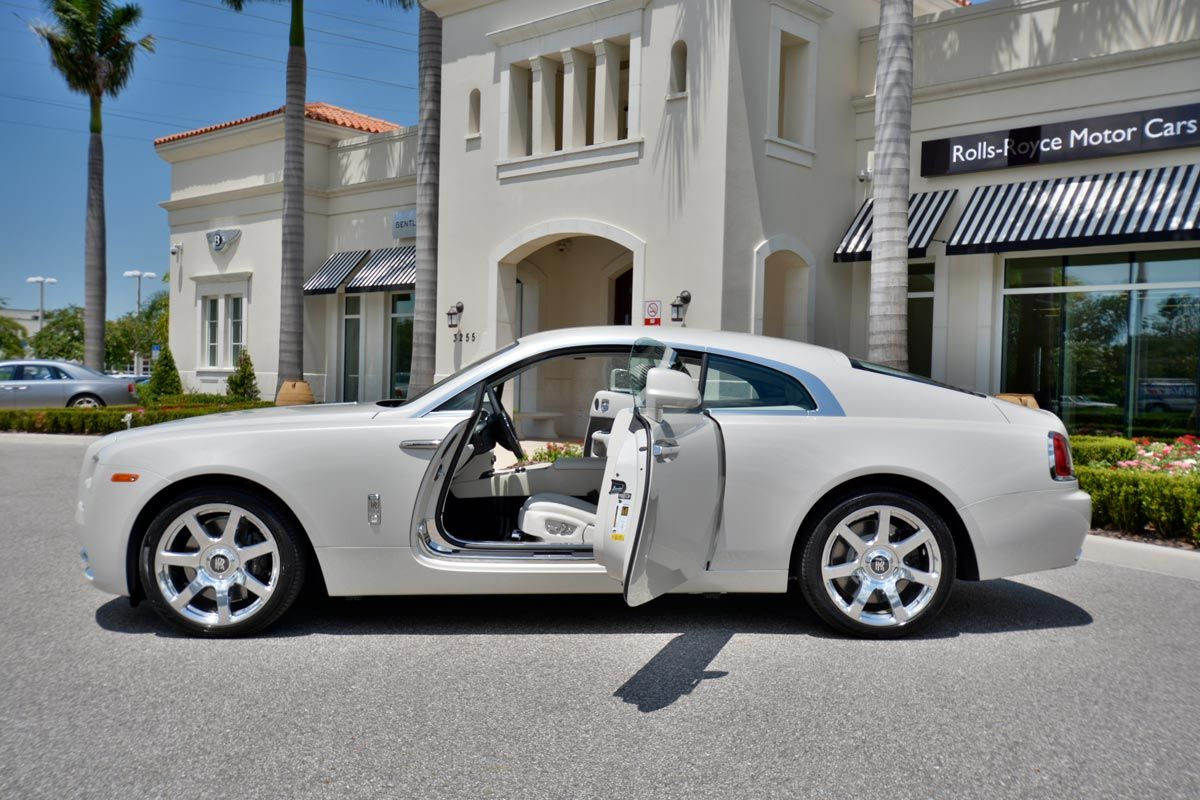 Rare Rolls-Royce Wraith in Carrara White for Sale | Rolls royce ...