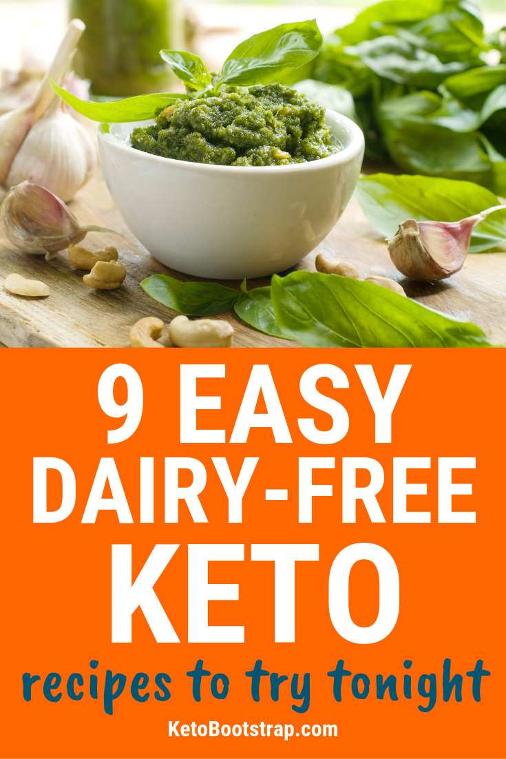 9 Easy to Make Dairy-Free Keto Recipes To Try Tonight