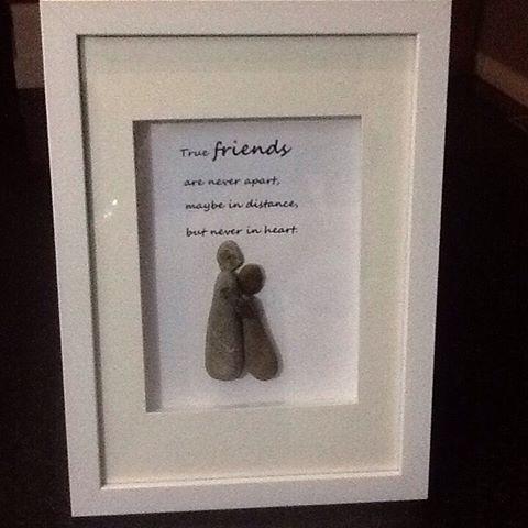 True friends#treasuredpebbles #family #pebbles #art #custom ...