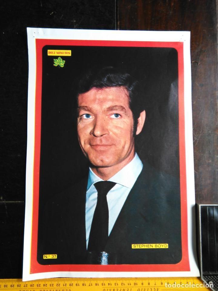 cartel poster tamaño 40 x 26.5 - años 70 - STEPHEN BOYD