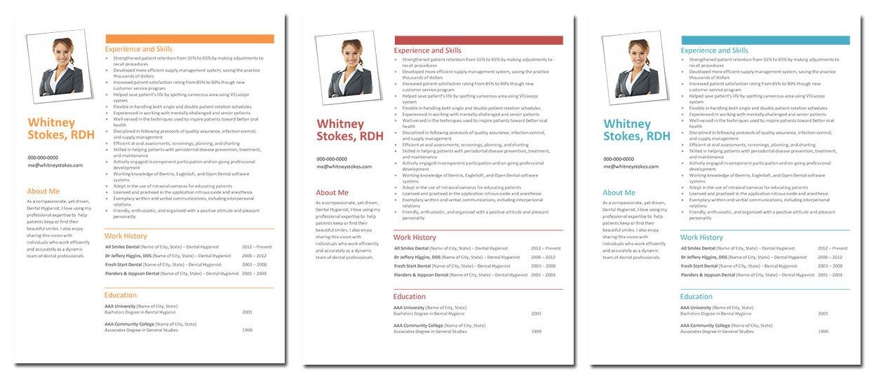 Whitney! Dental Hygiene Resume Template only $7 get it now at - dental hygiene resumes