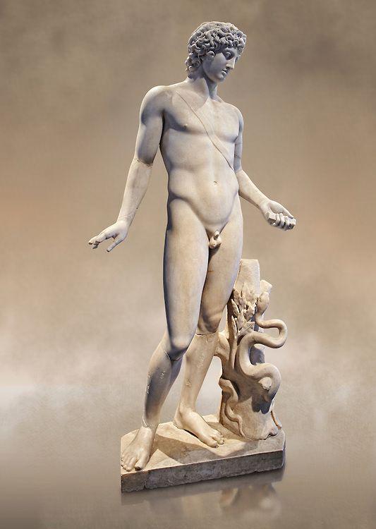 Roman Statue Of Apollo Known As The Chigi Apollo Mid 2nd