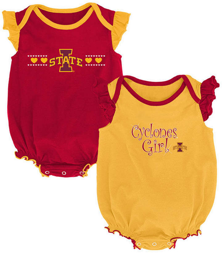 Outerstuff Iowa State Cyclones Creeper 2 Pack Homecoming Bodysuit Set