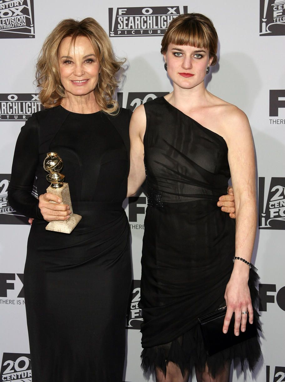Jessica Lange and daughter Hannah Jane Shepard | Celebrity ...