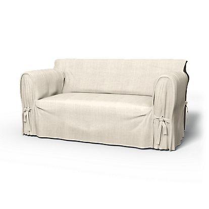 Multi Fit, 2 Seater sofa cover, Tie Arm Classic 160-180 cm ...