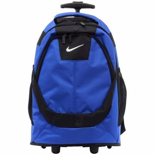 ce8b8c1282f Nike 9A2215 Core Game Royal/Black Rolling Backpack 19' School Bag ...