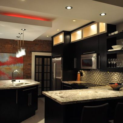 Reverse Tray Ceiling Design Ideas Pictures Remodel And Decor Small Kitchen Decor Kitchen Soffit Kitchen Design