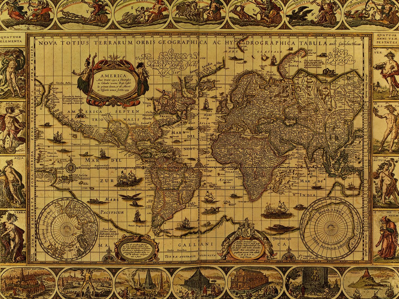 Mapas antiguos para imprimir o curiosear 60  Antique maps