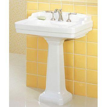 St Thomas Creations Neo Venetian Complete Petite Pedestal Sink