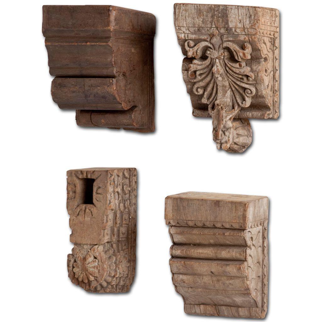 4 Piece Ceramic Sconce Set