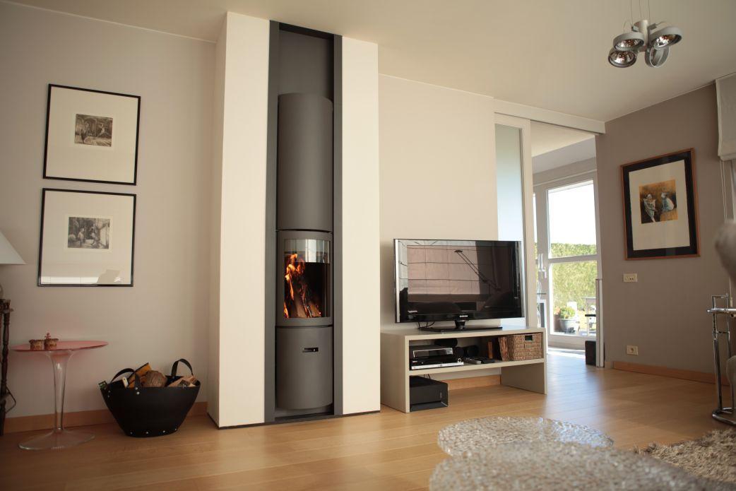 po le bois st v 30 compact in chemin es salvador chemin es pinterest poele bois po le. Black Bedroom Furniture Sets. Home Design Ideas
