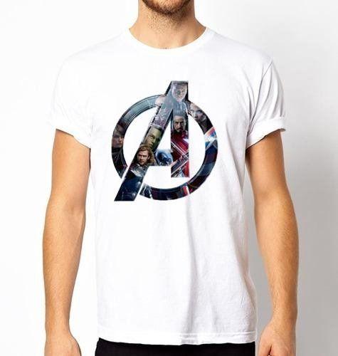 f2e9b1d2fe2ced Playera O Camiseta Todos Los Avengers Logo Marvel | Outfits en 2019 ...